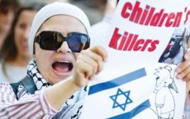 הפגנה אנטי-ישראלית בשבדיה