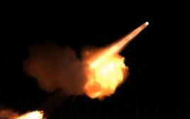 תיעוד שיגור טילי פטריוט
