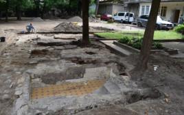 המקוואות שנחשפו בבית הכנסת בווילנה
