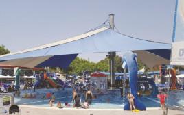 ילדים עם אוטיזם בבריכה