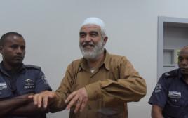 הארכת מעצר לשייח ראאד סלאח