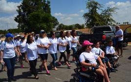 צעדת האמהות לילדים החולים בניוון שרירים