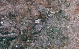 ירושלים בתמונות הלוויין הישראלי