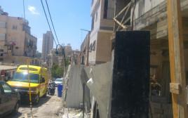 אתר הבנייה בבני ברק