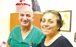 אורה דאדו בבית החולים