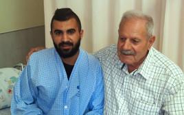 בנימין נתניהו מכפר ראמה טופל במחלקה הכירורגית במרכז הרפואי זיו בצפת