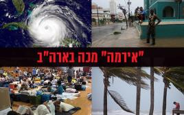 """הוריקן אירמה מכה בארה""""ב"""