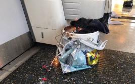המטען ברכבת התחתית בלונדון