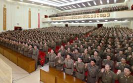 עצרת של צבא קוריאה הצפונית