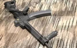 רובה שנמצא בחדר במלון של הרוצח מלאס וגאס