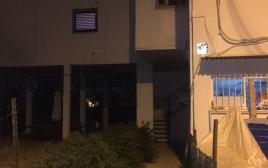הבניין בו אירע הפיצוץ בתל אביב