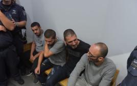 החשודים בתקיפה באיכילוב בבית המשפט