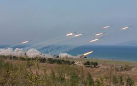 תרגיל של צבא קוריאה הצפונית