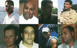 עובדי הרכבת שנפלו מהטיל בלבנון השנייה