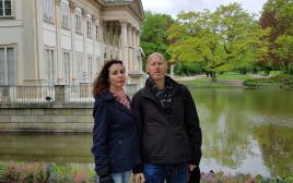 אורית גור ובעלה