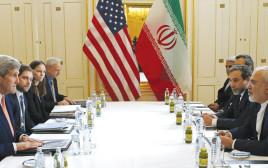 זריף וקרי בשיחות על הסכם הגרעין