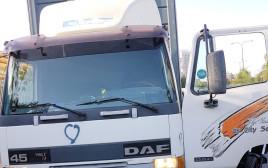 המשאית איתה תכנן העצור לדרוס חיילים