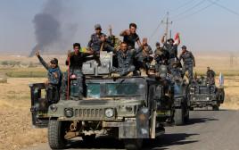 אנשי כוחות הפדרליים של עיראק סמוך לכירכוכ