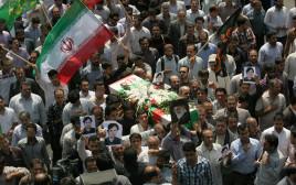 הלוויית מדען גרעין איראני