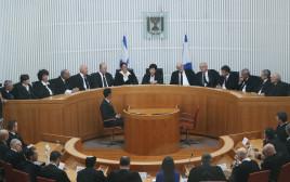טקס הפרישה של נשיאת בית המשפט העליון מרים נאור