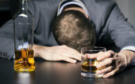 גבר שיכור, צילום אילוסטרציה