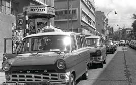 מוניות בתל אביב בשנות ה־70