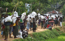 פליטים במיאנמר