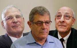 יצחק מולכו, מיקי גנור ודוד שמרון