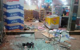 נזקי רעידת האדמה באיראן