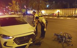 """תאונת אופניים שבה נהרג הנער אייל סלומון ז""""ל, אוקטובר 2016"""