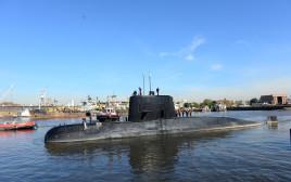 """הצוללת """"סן חואן"""""""