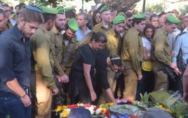 """הלוויתו של החייל רון יצחק קוקיא ז""""ל"""