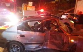 תאונה קשה בכפר בענה שבצפון, 3 פצועים קשה