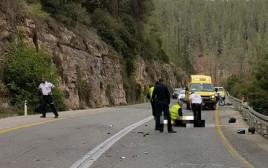 התאונה סמוך לירושלים