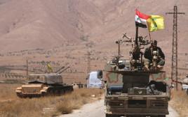 כוח חיזבאללה בגבול סוריה לבנון
