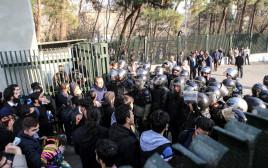 הפגנות באיראן נגד השלטון