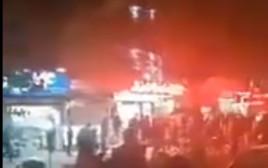 ירי על מפגינים באיראן