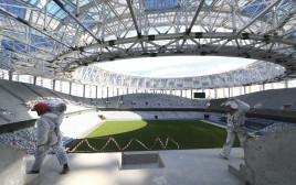 הכנת איצטדיון למונדיאל ברוסיה