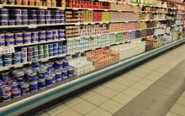 מוצרים בסופרמרקט
