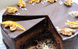עוגת שוקולד בניחוח תפוז