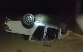 תאונת הדרכים סמוך לכלא נפחא
