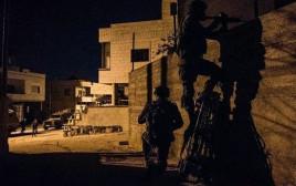 כוחות הביטחון בג'נין