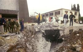 פגיעת טיל בבית דני בשכונת התקווה, בזמן מלחמת המפרץ