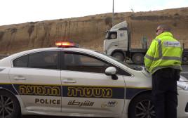 ניידת של משטרת התנועה