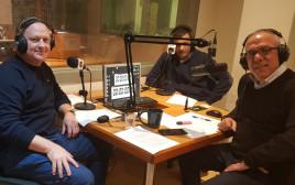 יונתן הללי עם עדי אדלר בשידור