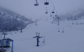 שלג בחרמון