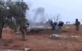 הטייס הרוסי מפוצץ עצמו בסוריה