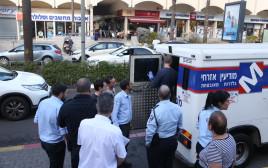 שוד רכב מודיעין אזרחי בגני תקווה