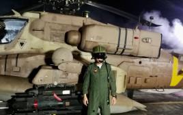 """הטייס שיירט את המל""""ט האיראני"""