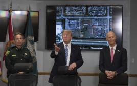 הנשיא טראמפ מבקר בפארקלנד